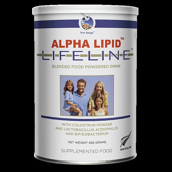 Alpha Lipid Lifeline Colostrum Powdered Drink 450gr